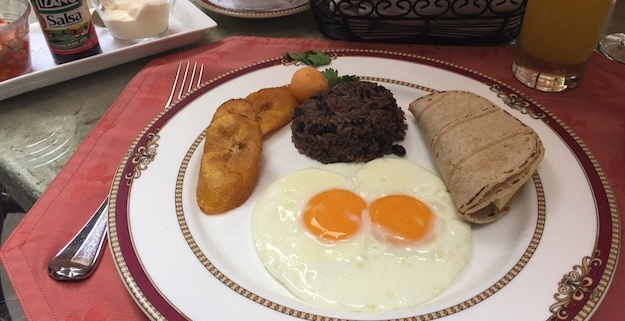 gallo pinto a costa rican breakfast