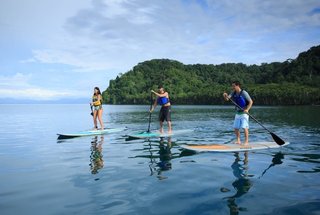 playa cativo eco lodge costa rica stand up paddle boarding