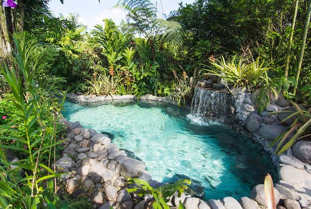 Arenal springs resort costa rica hot springs