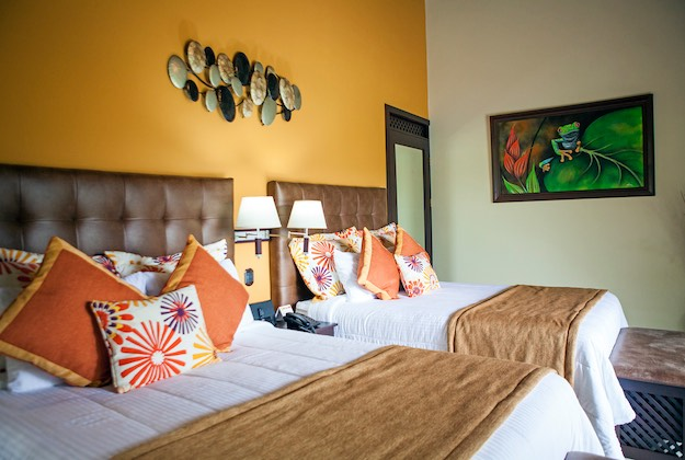 Arenal springs resort costa rica twin beds