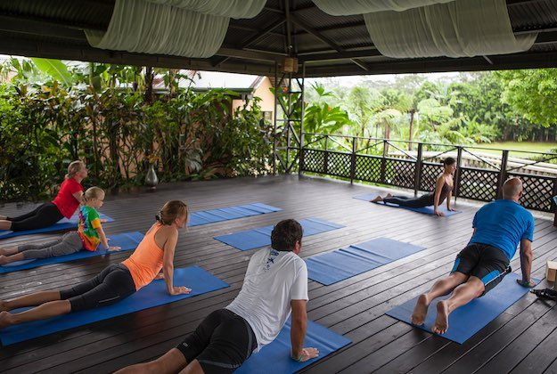 Arenal springs resort costa rica yoga