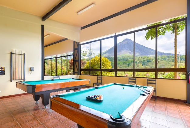 Kioro suites hotel arenal costa rica games room
