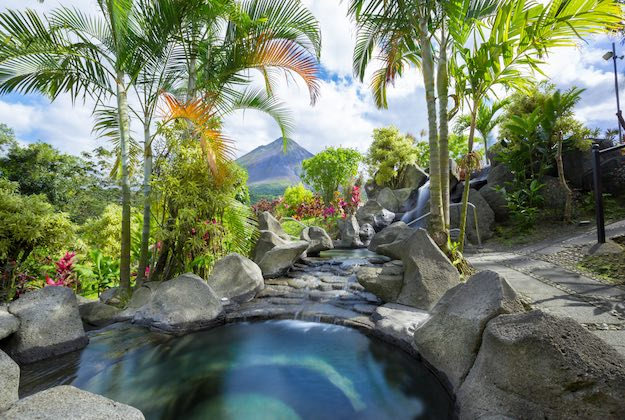 Kioro suites hotel arenal costa rica natural hot springs