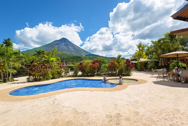 Kioro suites hotel arenal costa rica swimming pool