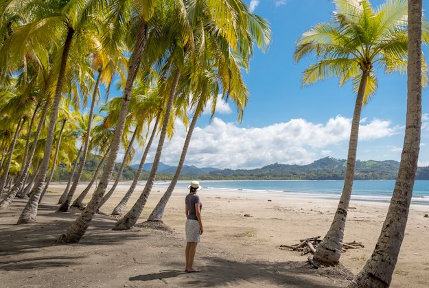 nicoya peninsula deserted beach