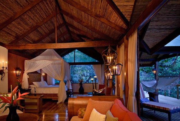 pacuare lodge costa rica candlelit room