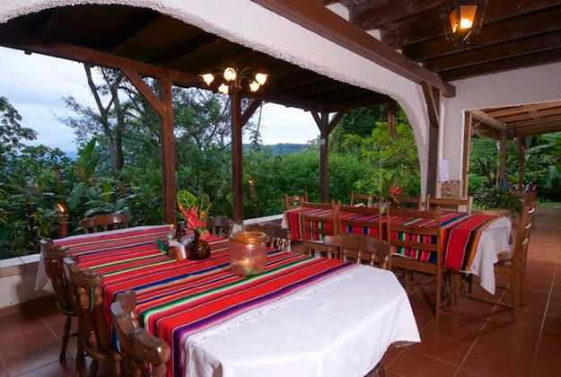rancho naturalista turrialba costa rica dining area
