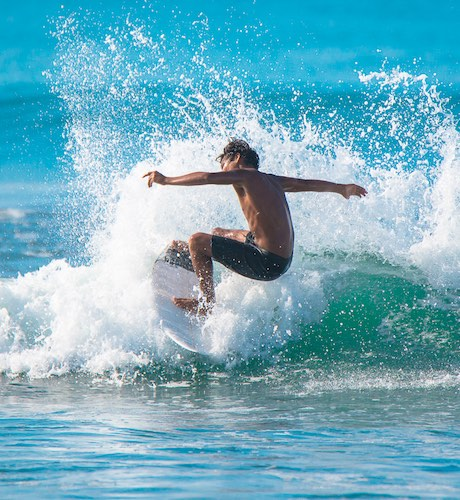 surfing the pacific coast on the nicoya peninsula costa rica
