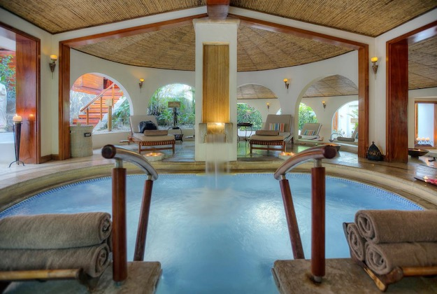 tabacon grand spa arenal costa rica indoor spa