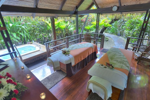 tabacon grand spa arenal costa rica massage tables