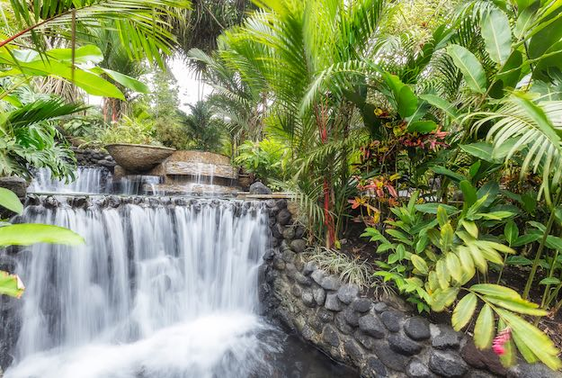 tabacon grand spa arenal costa rica natural hot springs