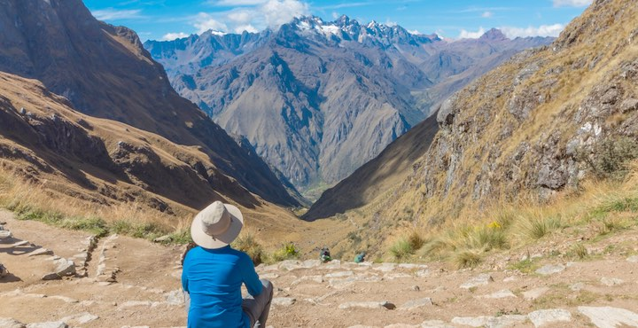 the dead woman's pass on the complete inca trail tour in peru