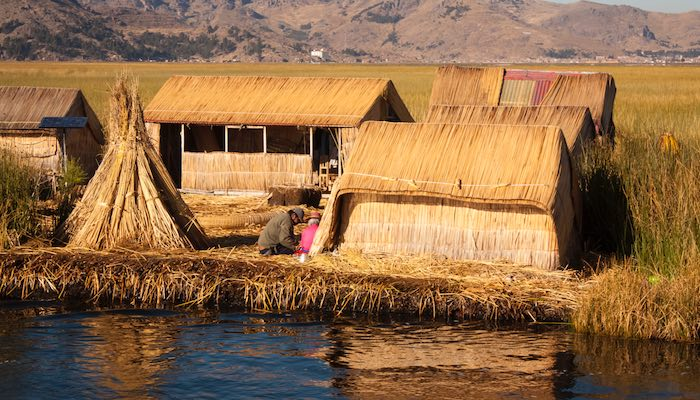 floating reed islands lake titicaca