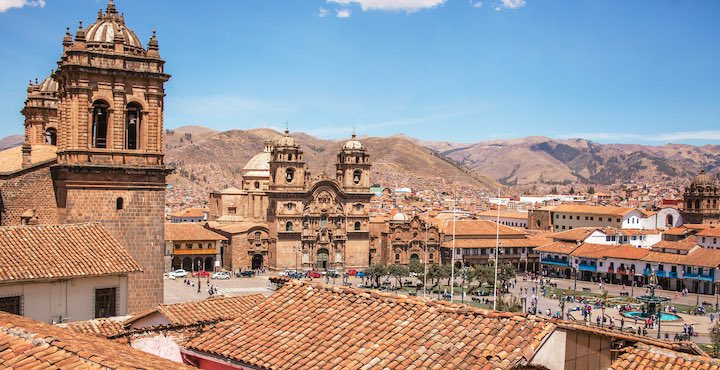 rooftops of cusco peru