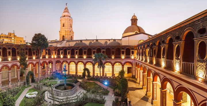 the san francisco convent in lima peru