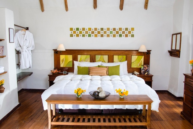 colca lodge peru suite