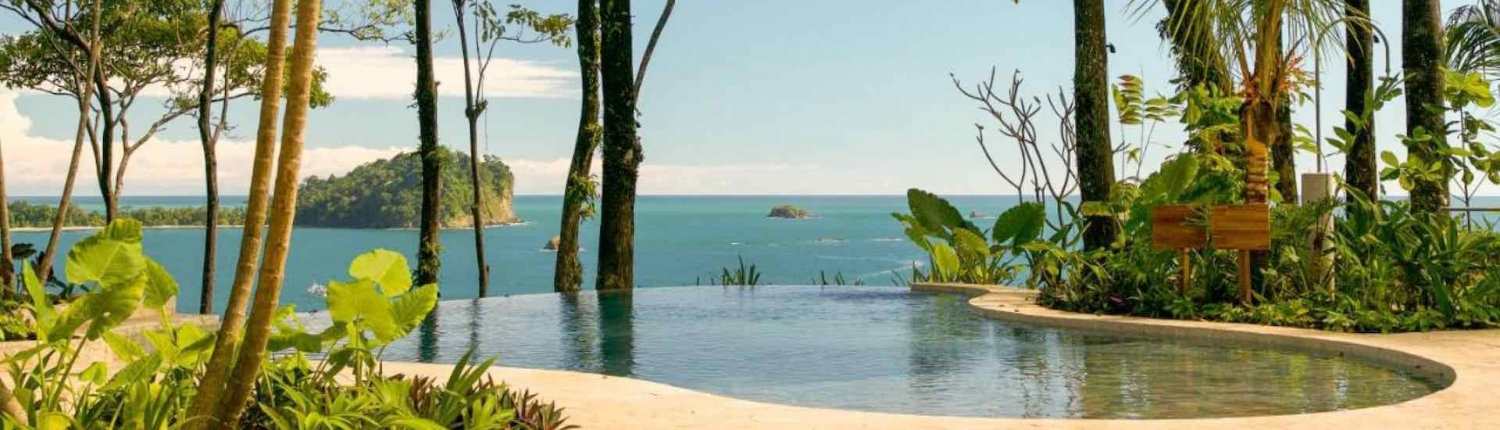 infinity pool at arenas del mar hotel manuel antonio
