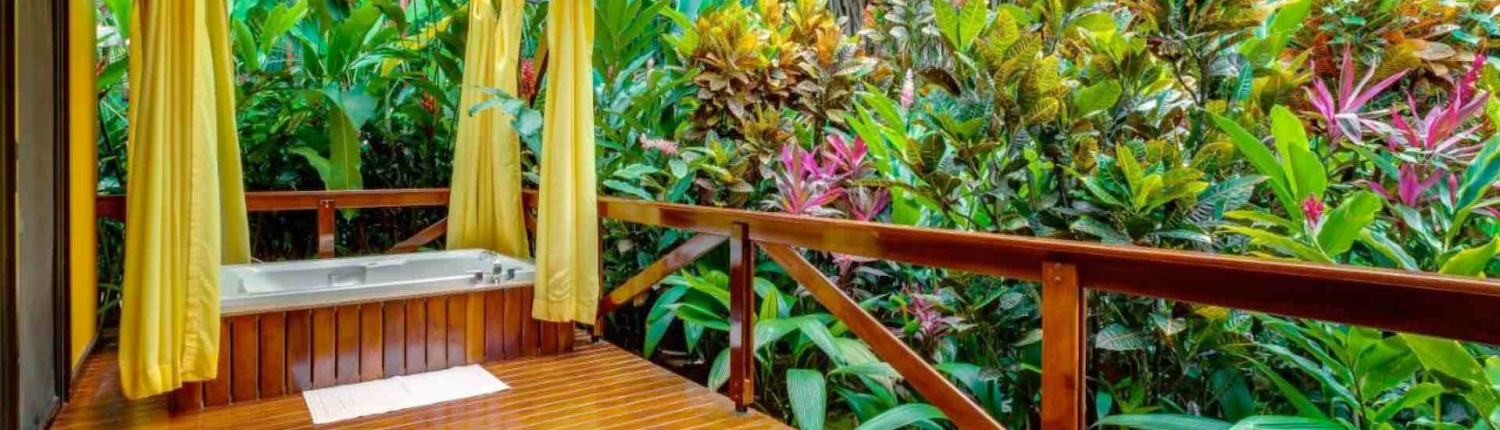 nayara hotel and gardens private jacuzzi terrace