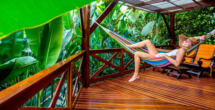 relaxing at nayara hotel costa rica