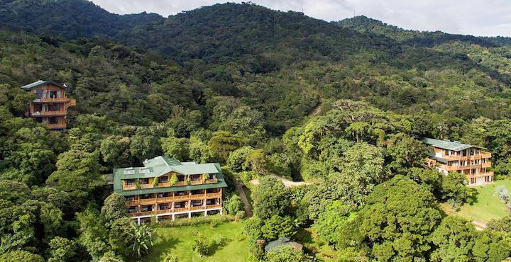 aerial view of the belmar hotel costa rica