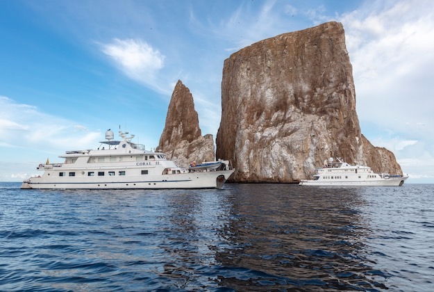 coral yachts and kicker rock galapagos