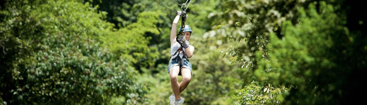 zip lining in costa rica family holiday