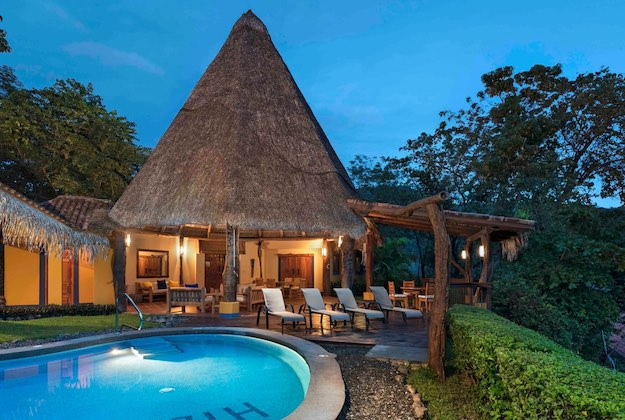 punta islita hotel three bed villa with private pool