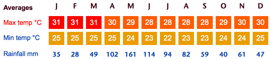 Salvador Weather Averages