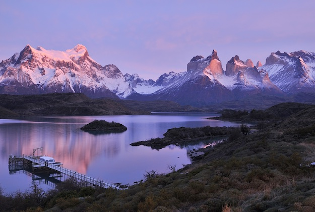 los cuernos in torres del paine national park