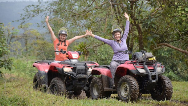 ATV quad bike tour costa rica
