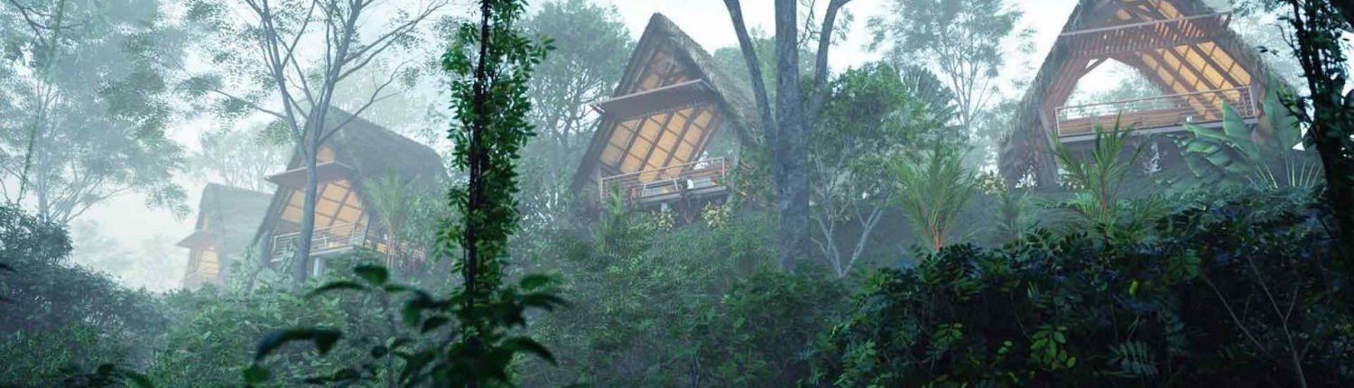 Amor Arenal hotel in the rainforest