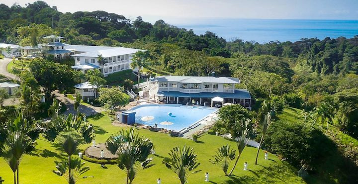 cristal ballena hotel with ocean view costa rica