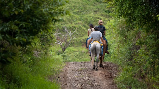 horse riding in costa rica