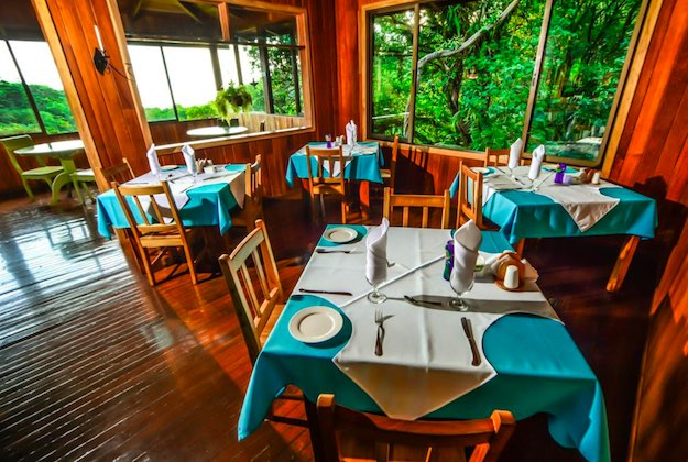 monteverde cloud forest lodge restaurant