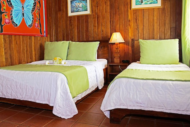 monteverde cloud forest lodge twin bed