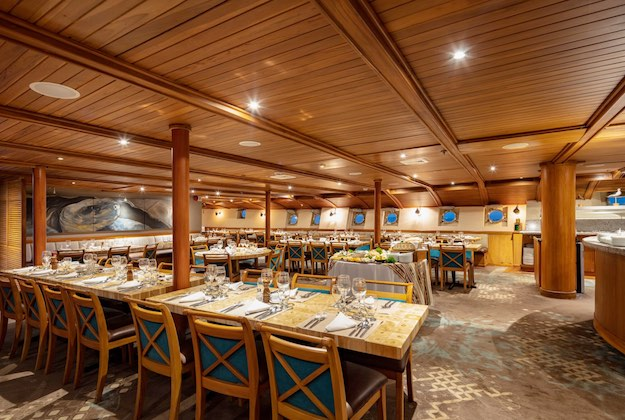 lonesome george restaurant on the galapagos legend cruise