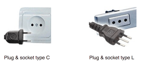 plug and socket types in chile