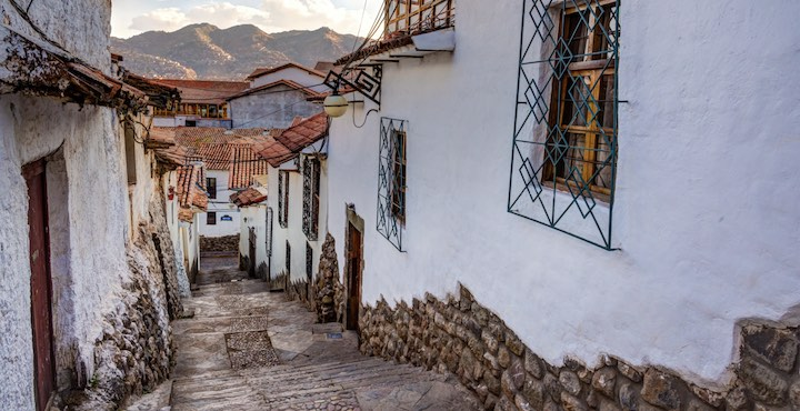streets of san blas cusco