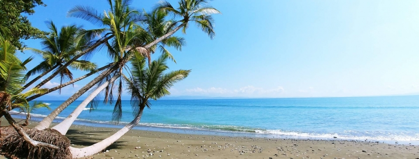 Costa Rica Beach and Blue Sea