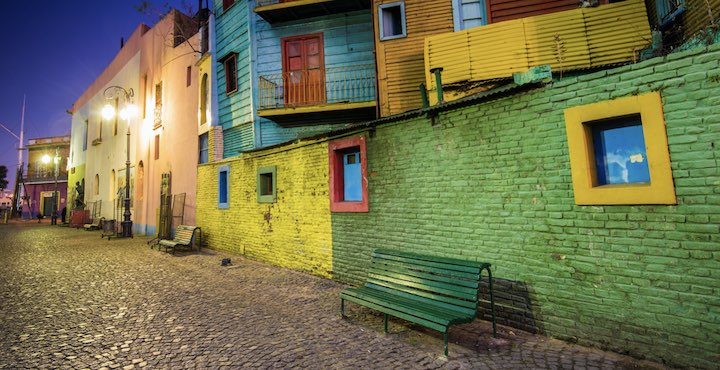 caminito street in buenos aires city tour