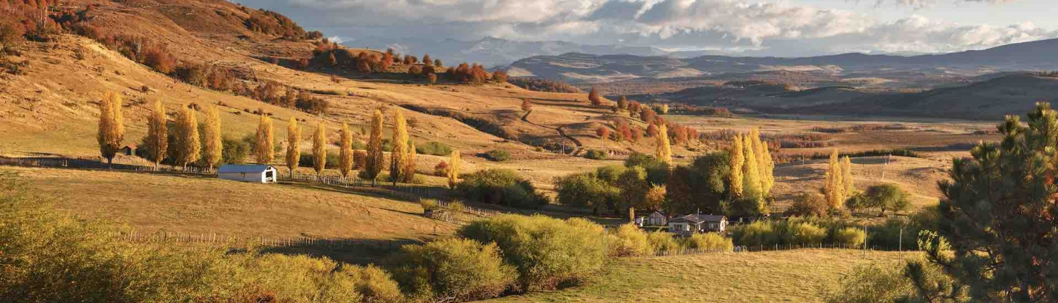 coyhaique region of chile on the austral highway self drive