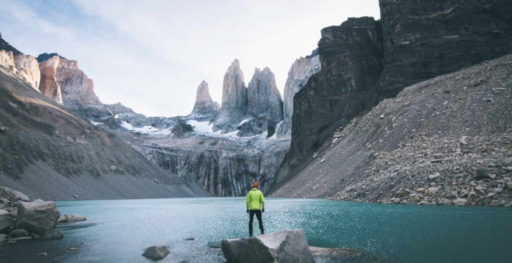 base of the towers hike torres del paine chile